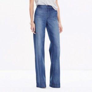NEW Madewell Trouser Denim Jeans